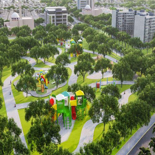 D. I. Khan New City Parks